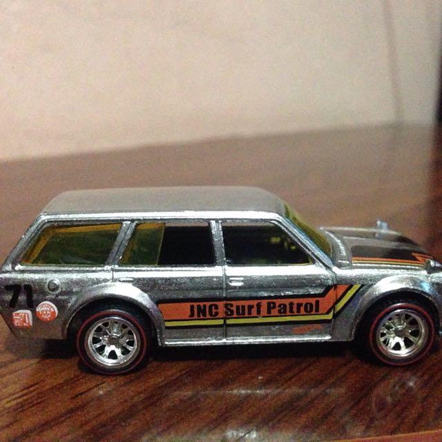 Hotwheels Datsun 510 Wagon Zamac