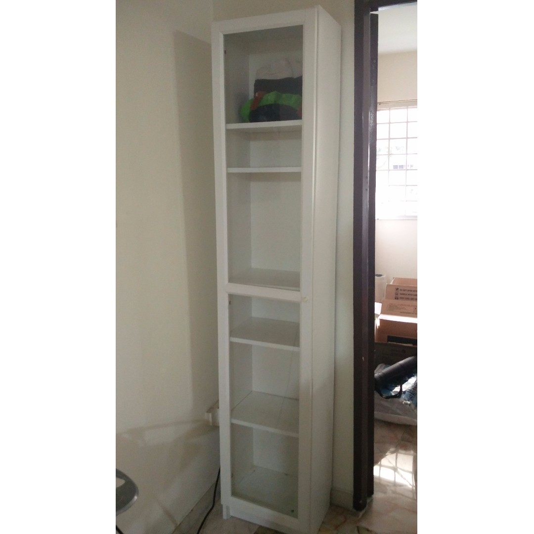 Reserved Ikea Billy Bookcase 1 Door White Furniture