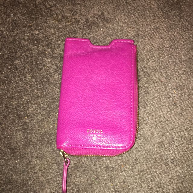 iPhone 5/6 Fossil Case/wallet