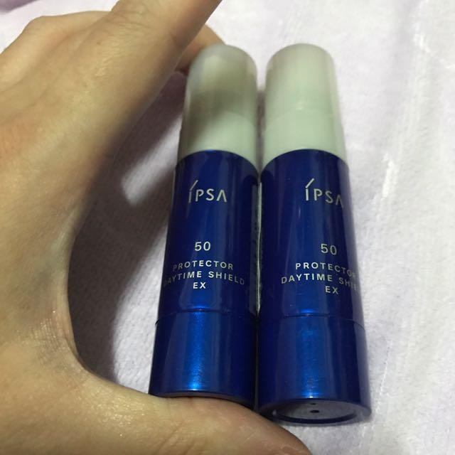 Ipsa茵芙莎 臉部抗痕防護乳 EX SPF 50 PA+++