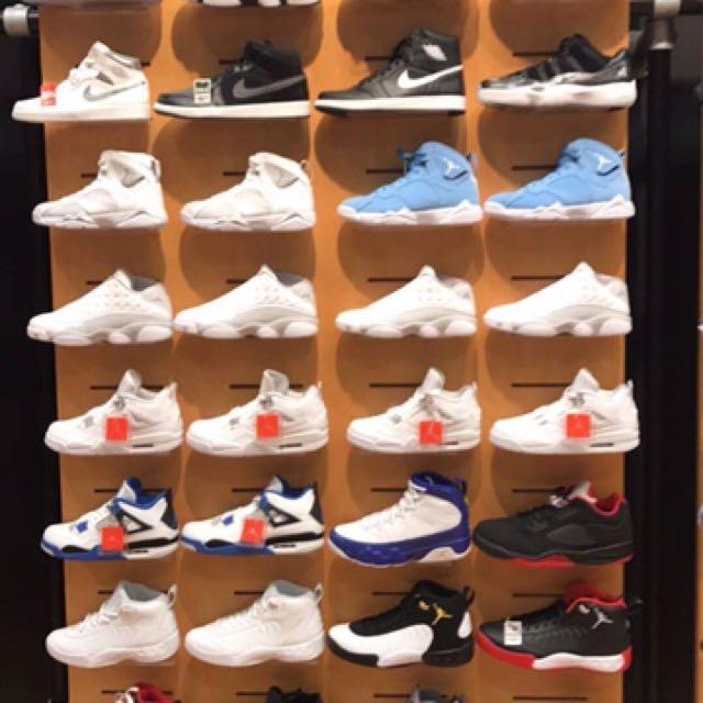 Jordan, Nike, Adidas