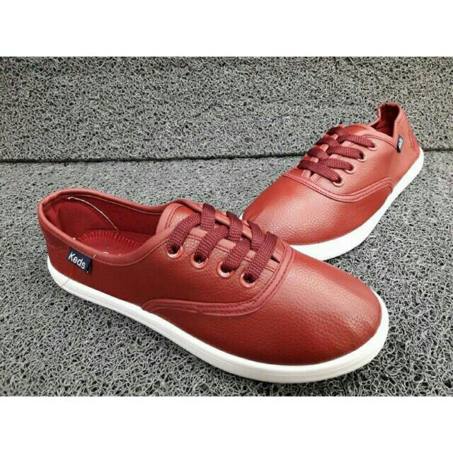 KEDS LEATHER SHOES (WITHOUT BOX)
