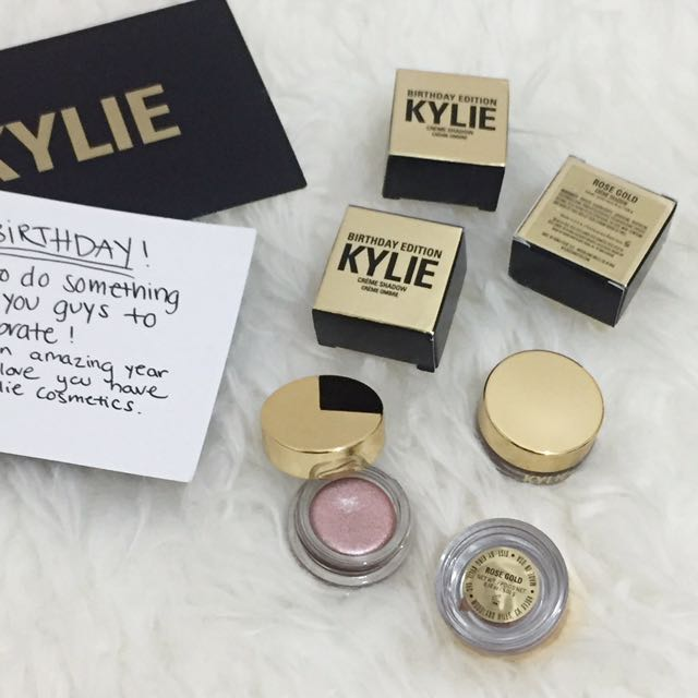 Kylie Creme Shadow Rose Gold
