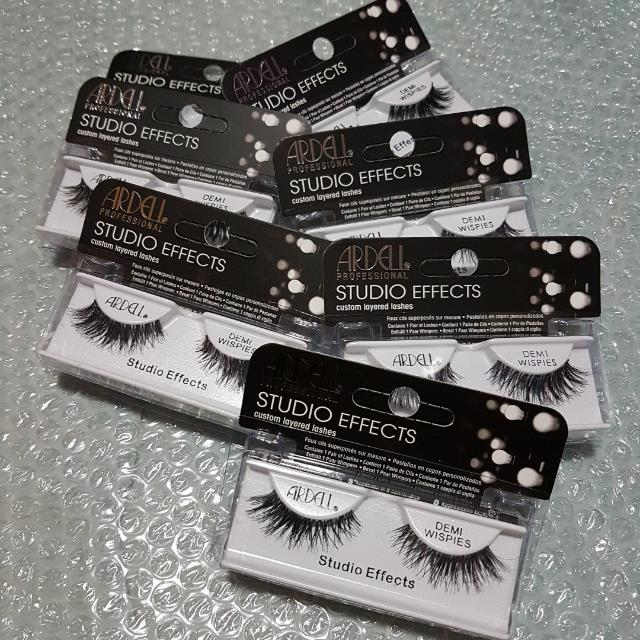 69c00141cd9 ARDELL Studio Effects Custom Layered Lashes DEMI WISPIES SGD 6.00 with free  normal mail, Health & Beauty, Makeup on Carousell