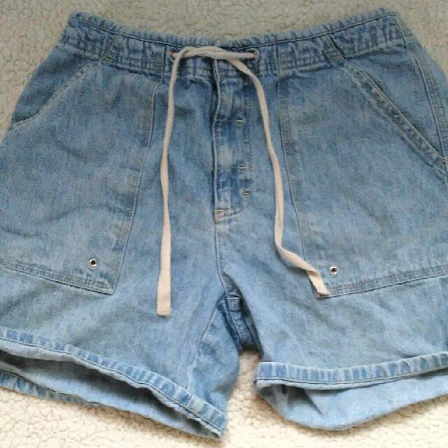 Light Denim High Waist Jeans