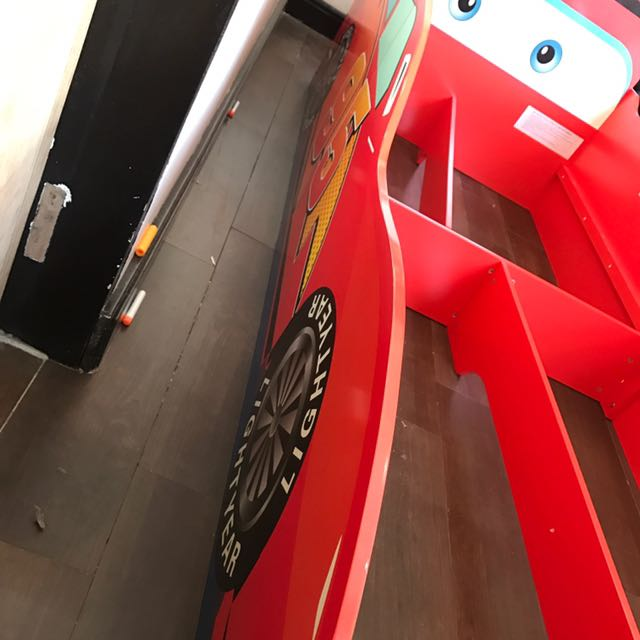 Lightning McQueen Bed Frame Home Furniture On Carousell
