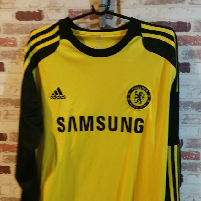 official photos 13f6e e4550 Long Sleeves GK Away Adidas Chelsea Fc soccer Jersey. ICC INTERNATIONAL  CHAMPIONS CUP