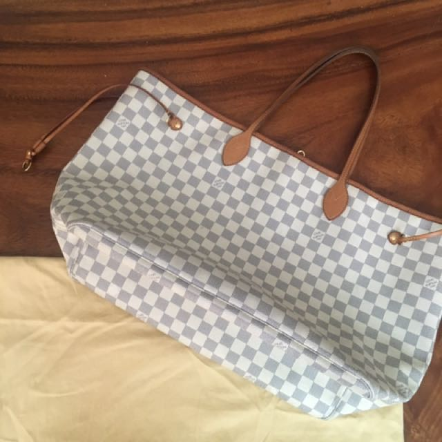 LOUIS VUITTON lv neverful GM azur