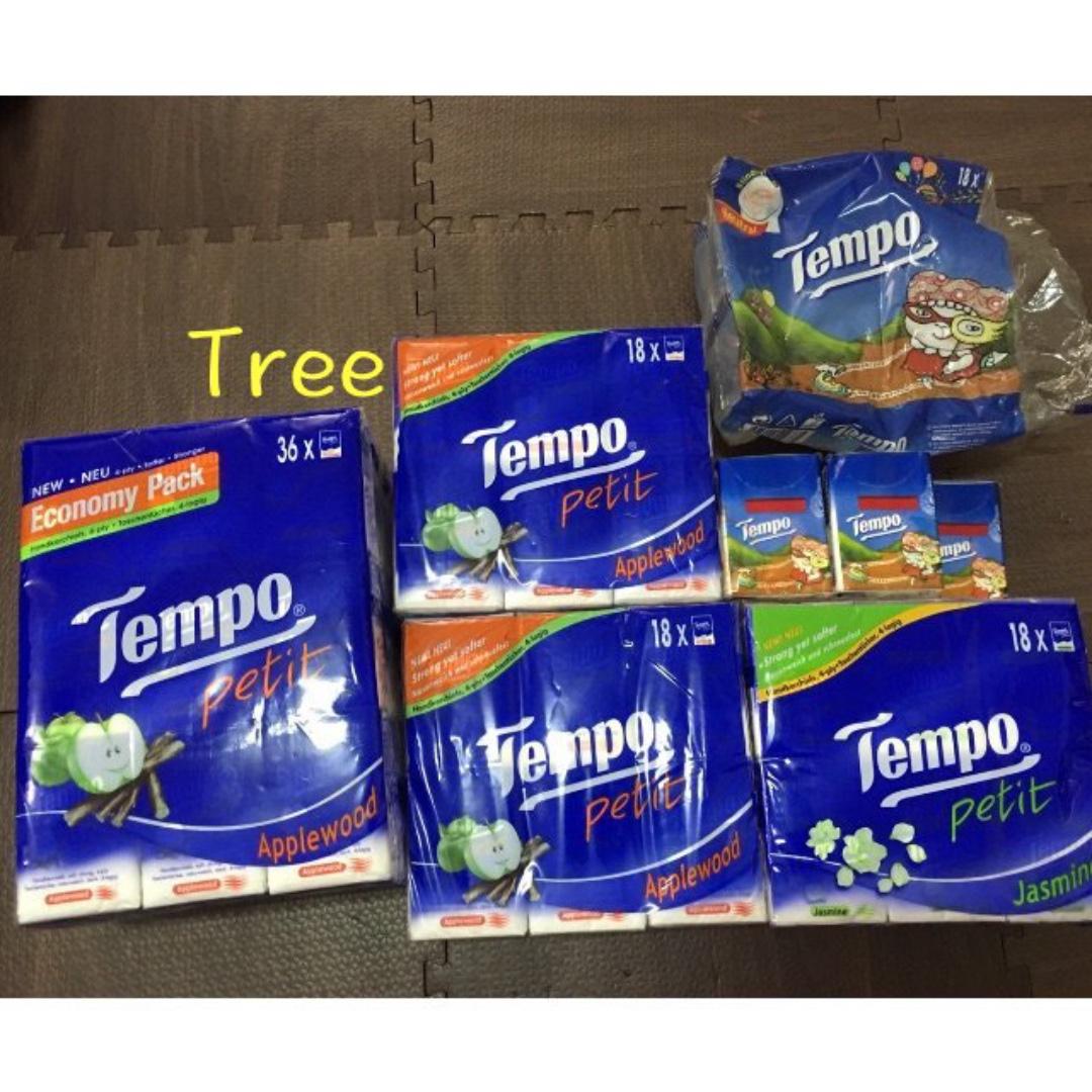 #香港代購#<紙巾界的LV>Tempo衛生紙