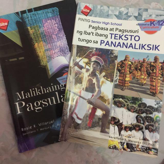 Malikhaing Pagsulat & Pagbasa At Pagsuri Ng Ibat Ibang Teksto Tungo Sa Pananaliksik