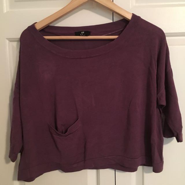 Medium Purple Top