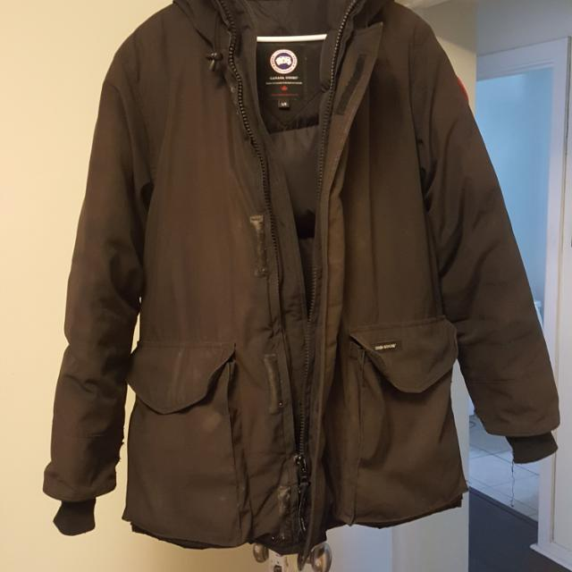 Men's Large Black CANADA GOOSE Parka