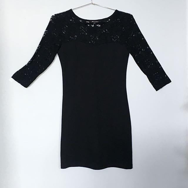 Mini Black Dress Forever 21