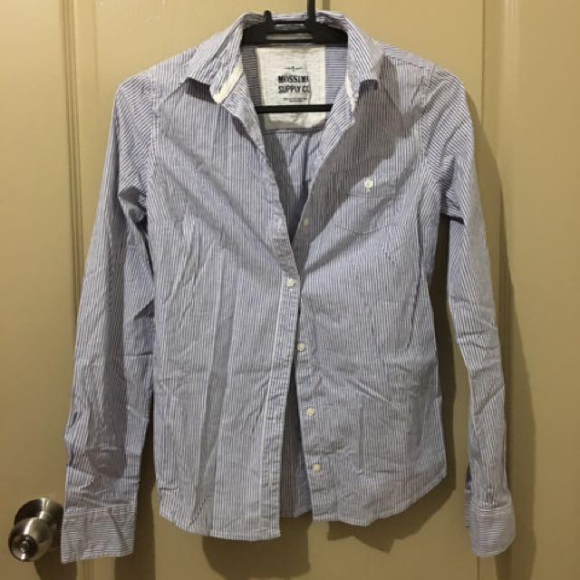 Mossimo Long-sleeved Polo
