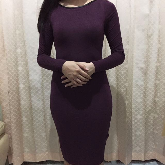 New Look Maroon Dress