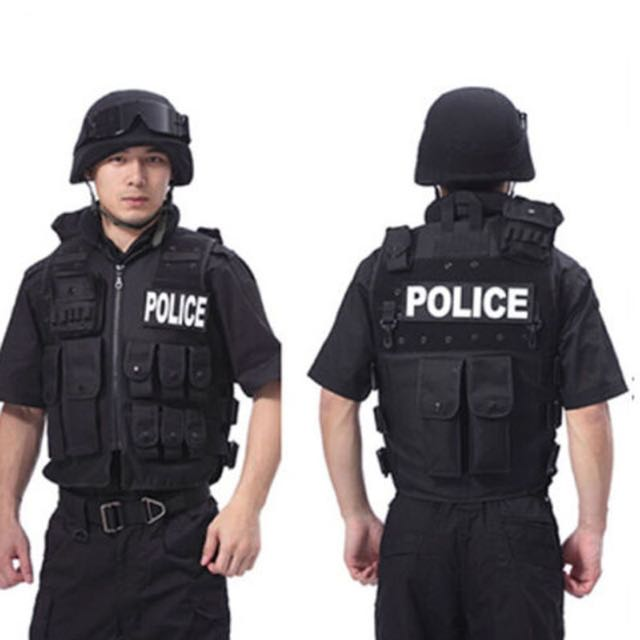 New Police Tactical Vest for Airsoft War Game Hunting Outdoor Camping Hiking