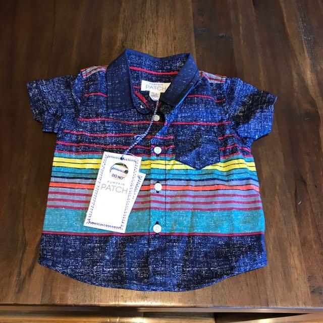 NewBorn Boys Shirt