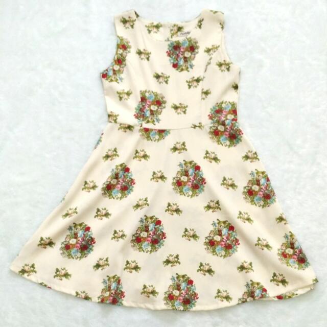 Nobby Flower Dress