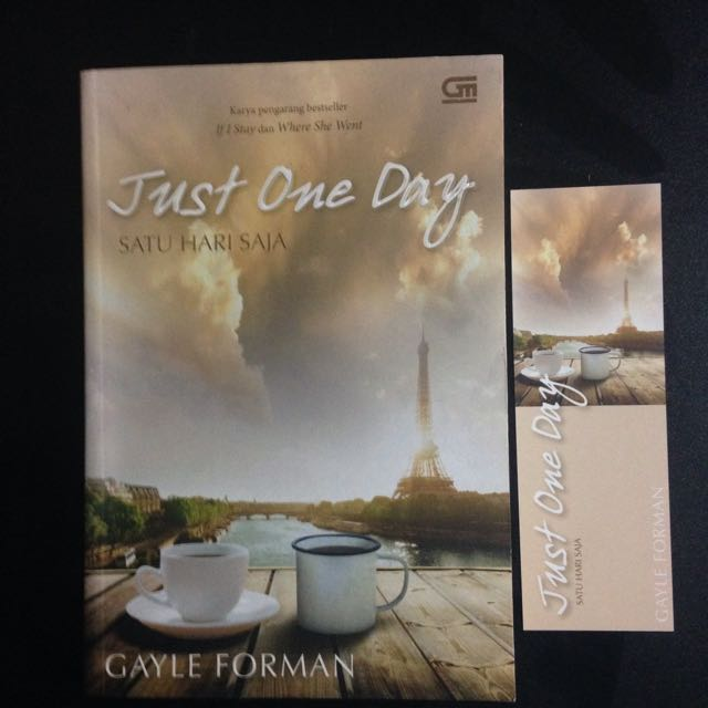 Novel Romance Just One Day - Gayle Forman