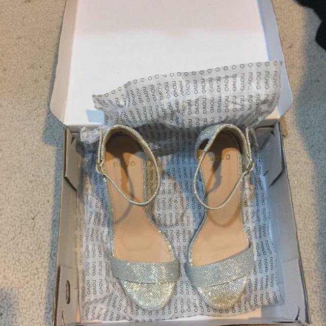 Novo 'Prestin' Silver Shoes