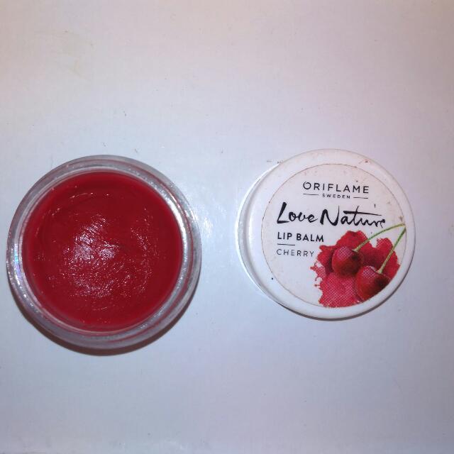 Oriflame Love Nature Lip Balm Cherry