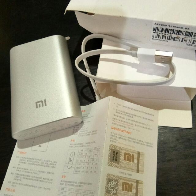 Original Xiaomi Power Bank 10000mAh Silver