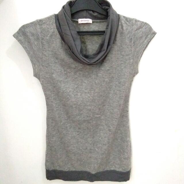 Orsay Original Grey Top - Preloved