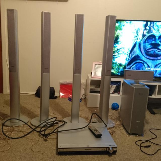 Panasonic Home Theatre System.