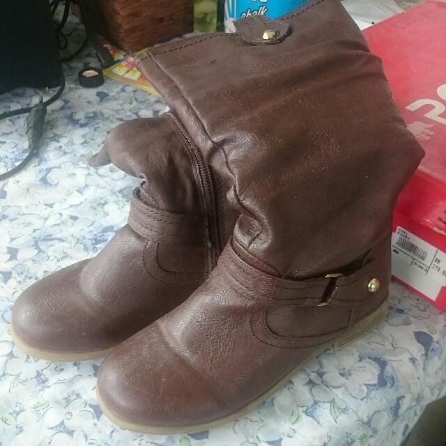 Poney Little Girl Boots