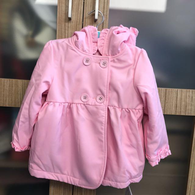 Pink Jacket Mom N Bab (2-3yo)