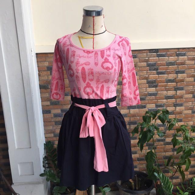Pink Spiderbilt Dress