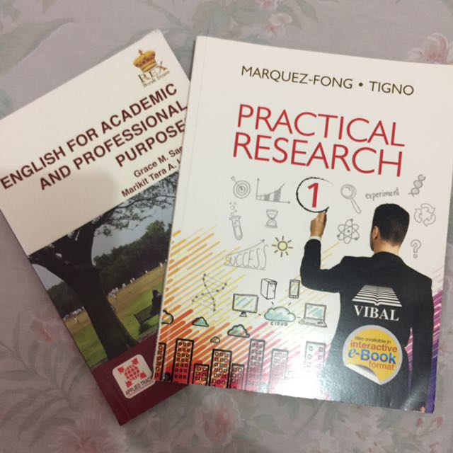 Practical Research 1 & English For Academic Purposes