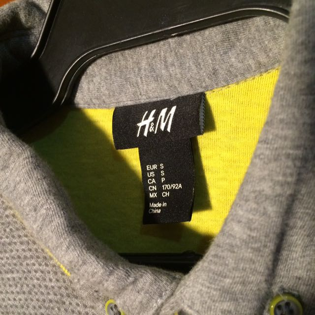 PRE OWNED H&M Polo Shirt