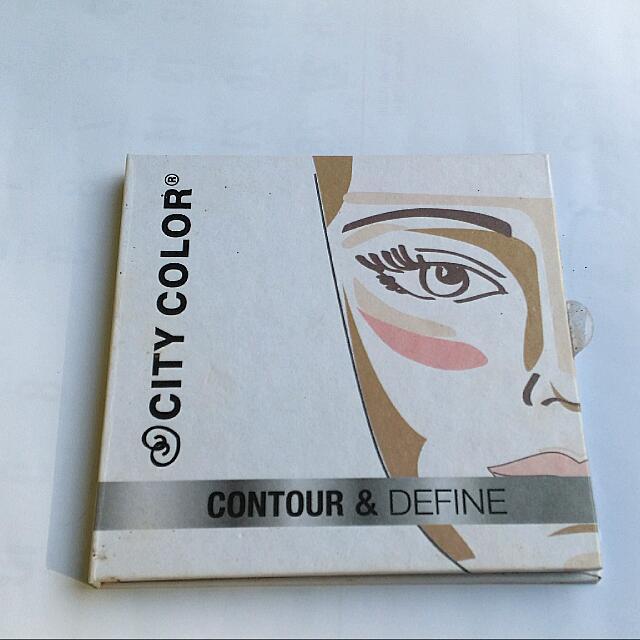 (preloved) City Color CONTOUR & DEFINE