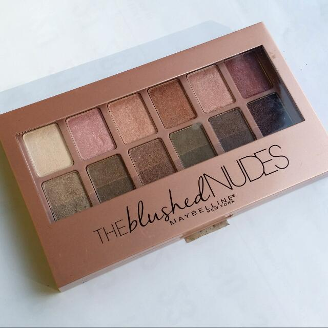 (preloved) Maybelline THE BLUSHED NUDES ORI