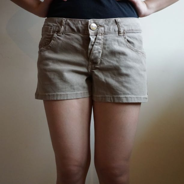 PULL&BEAR- Brown Shorts