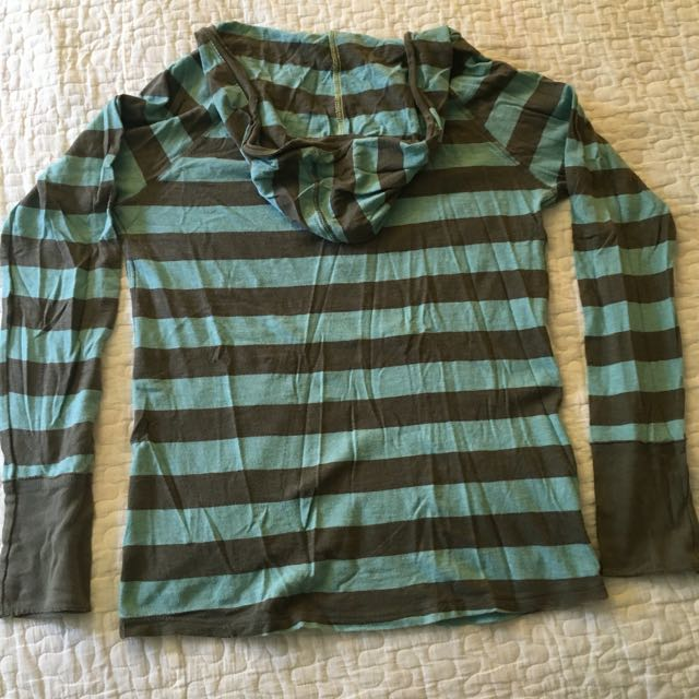 Pullover In T-shirt Fabric