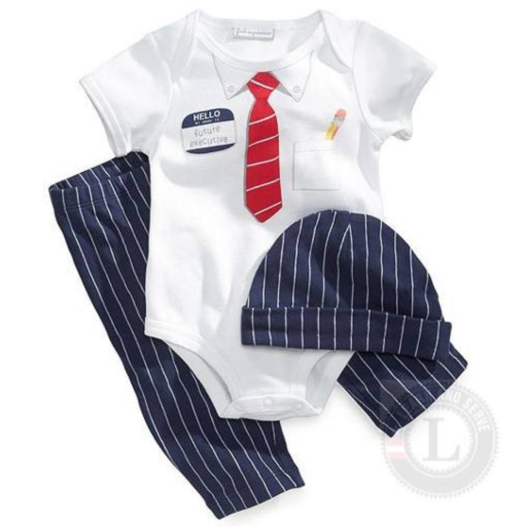 Random Design Baby Bodysuit Clothing Set