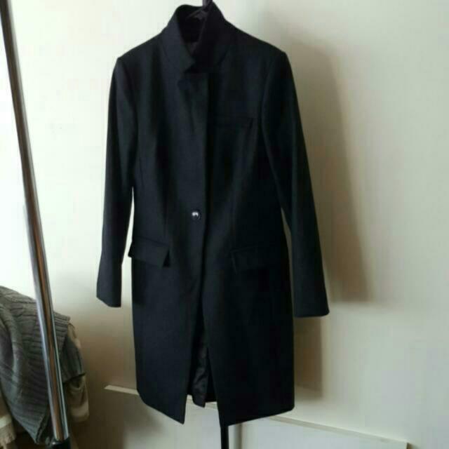 RHODES & BECKETT Eclissi Wool Coat Size 10
