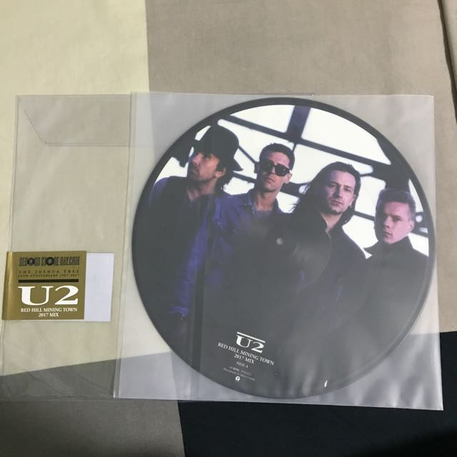 """*RSD2017* U2 - Red Hill Mining Town - Picture Disc 12"""" 45 RPM - 7000/worldwide"""