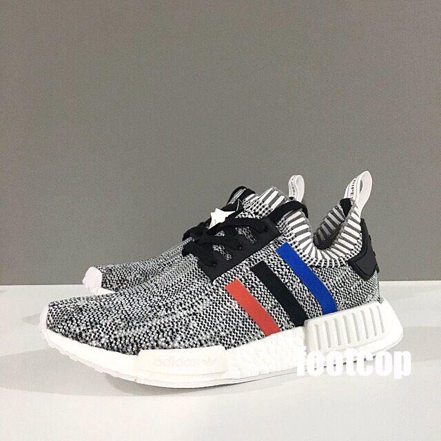 [SALE] Adidas NMD R1 PK Tricolor Grey
