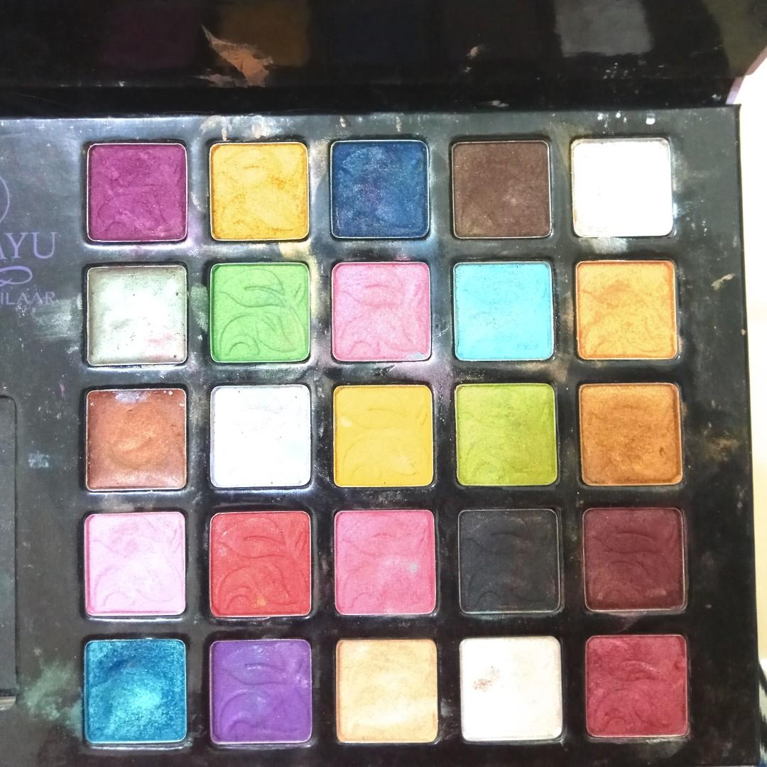 Sariayu Pallete 25 colors