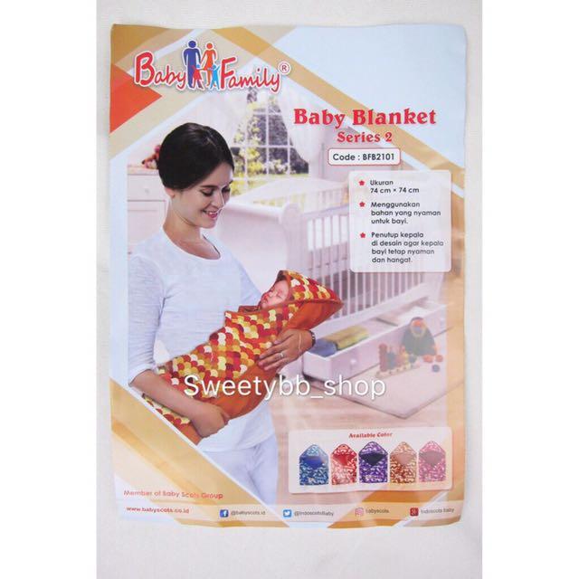 Selimut / Balnket Bayi Baby Family Tebal