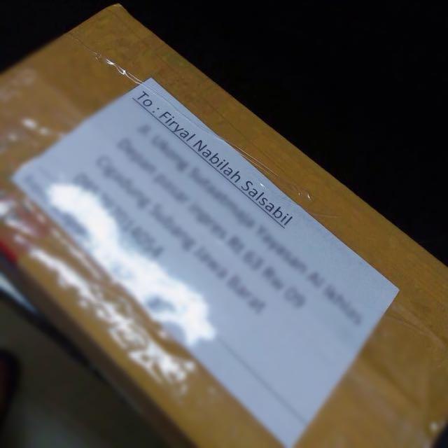 Shipping To Mba Firyal Di Subang..