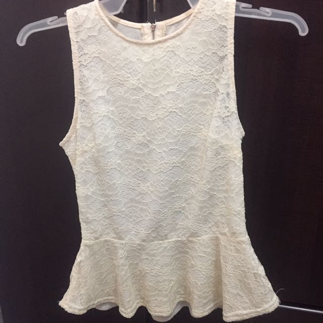 Sleeveless Lace