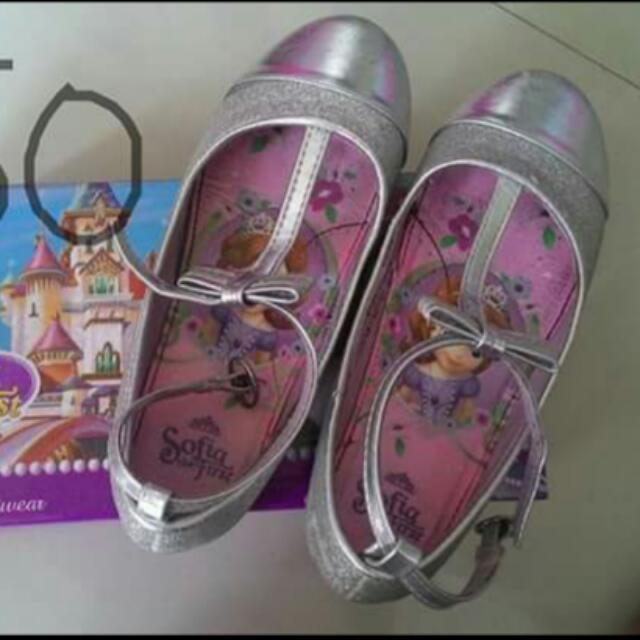 Sofia The First Silver Sandals