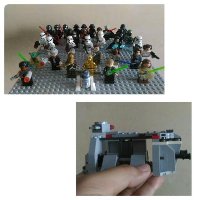 Star Wars Mini Figures Set