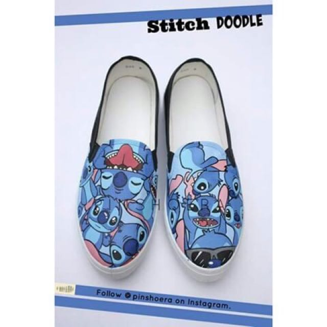 Stitch Hand Painted Shoes
