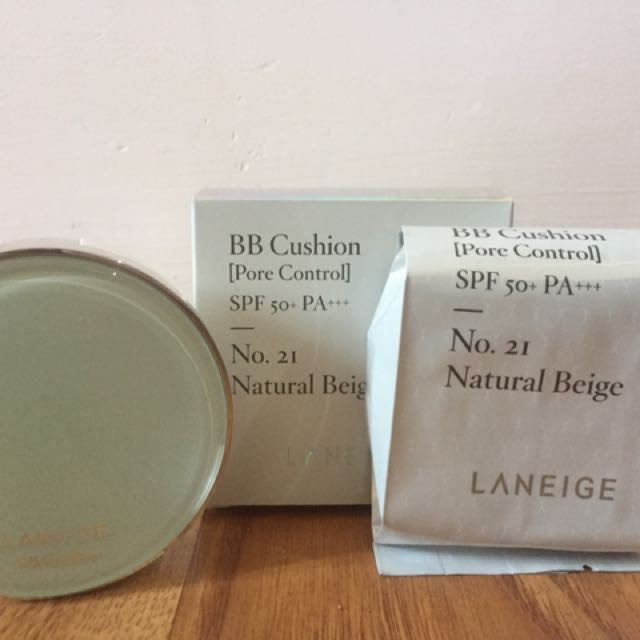 Stock Banyak New Laneige BB Cushion Pore Control #21