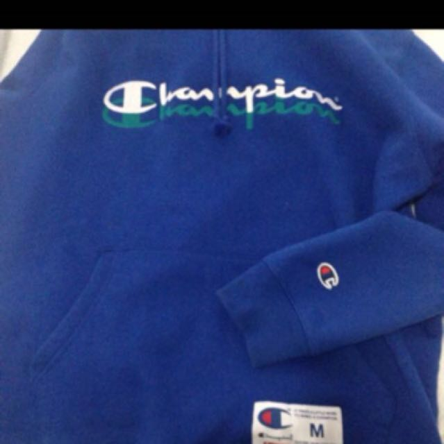 Supreme X Champion Scripted Hoodie